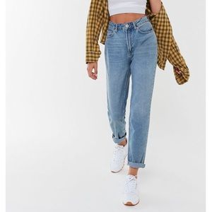 Wrangler high-rise mom jeans